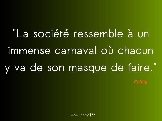 société carnaval