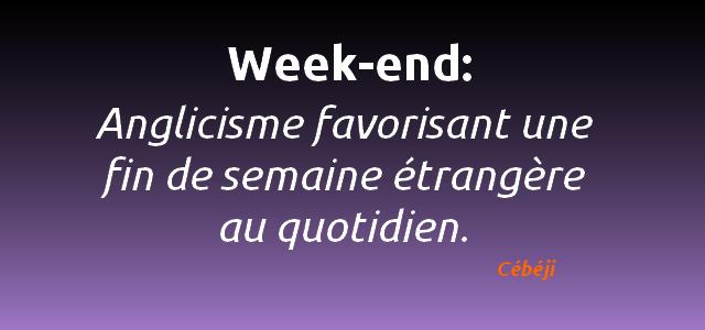 week-end definition