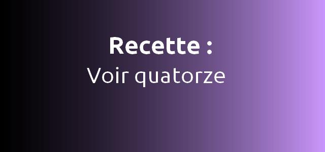 recette definition